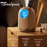 TBonlyone 300ML Mode Maison Brumisateur Aromatherapie Huile Essentielle Diffuseur LED Veilleuse Mignon Animal De Compagnie Humidificateur Dair Diffuseur Darome
