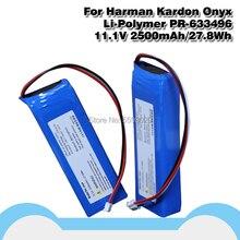 Haut-parleur batterie haut-parleur pour Harman Kardon Onyx PR-633496 11.1V 2500mah li-polymère acumulateur prise 3 fils
