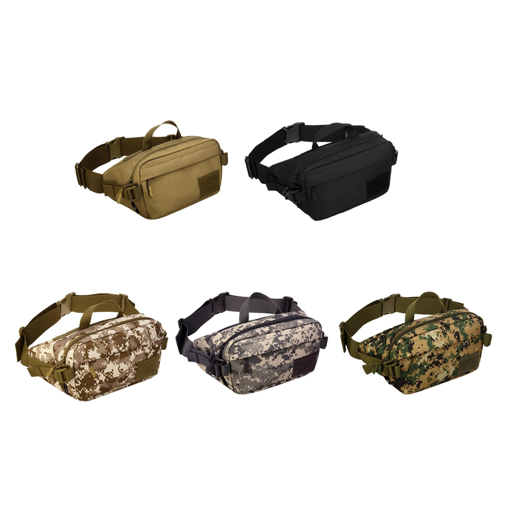 1x Waist Pack Bag Outdoor Travel Pouch Camping Hiking Shoulder Bag Backpack