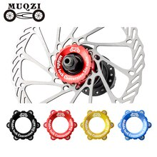 Muqzi Fiets Centerlock Om 6-Gat Adapter Mountainbike Hub Center Lock Conversie 6 Bolt Schijfremrotor