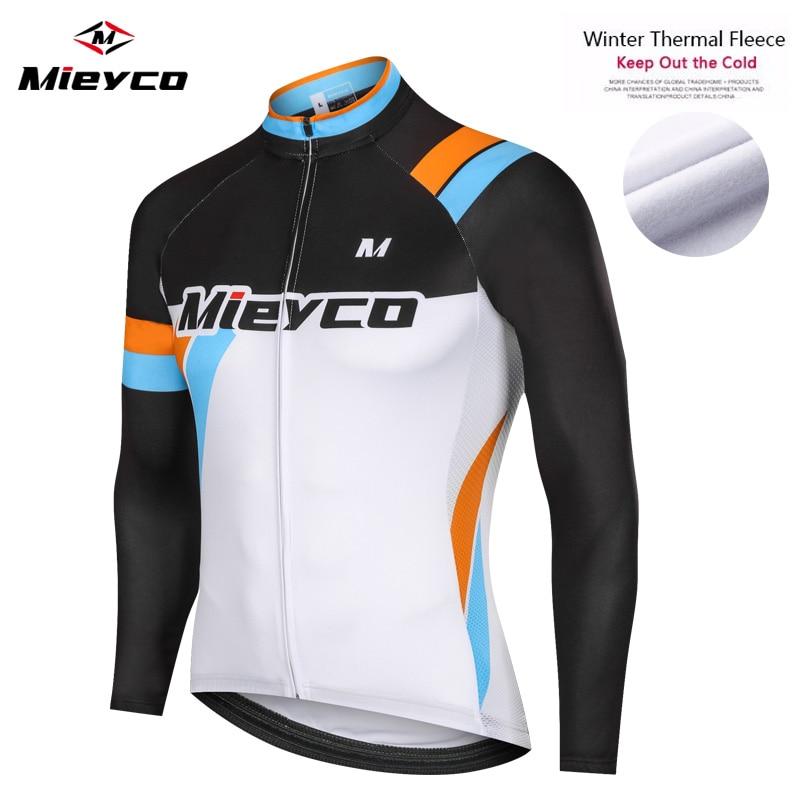 Mieyco-Maillot de Ciclismo profesional para Invierno, Ropa térmica de lana para bicicleta...