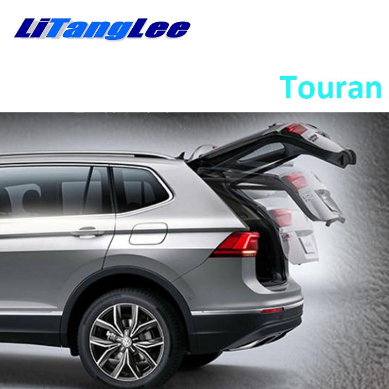 LiTangLee Car Electric Tail Gate Lift Trunk Rear Door Assist System For Volkswagen Touran 2015~2020 Original Key Remote Control