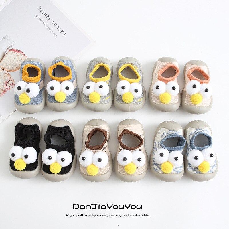Детские носки обувь Симпатичные животные стильные детские резиновые напольные носки обувь