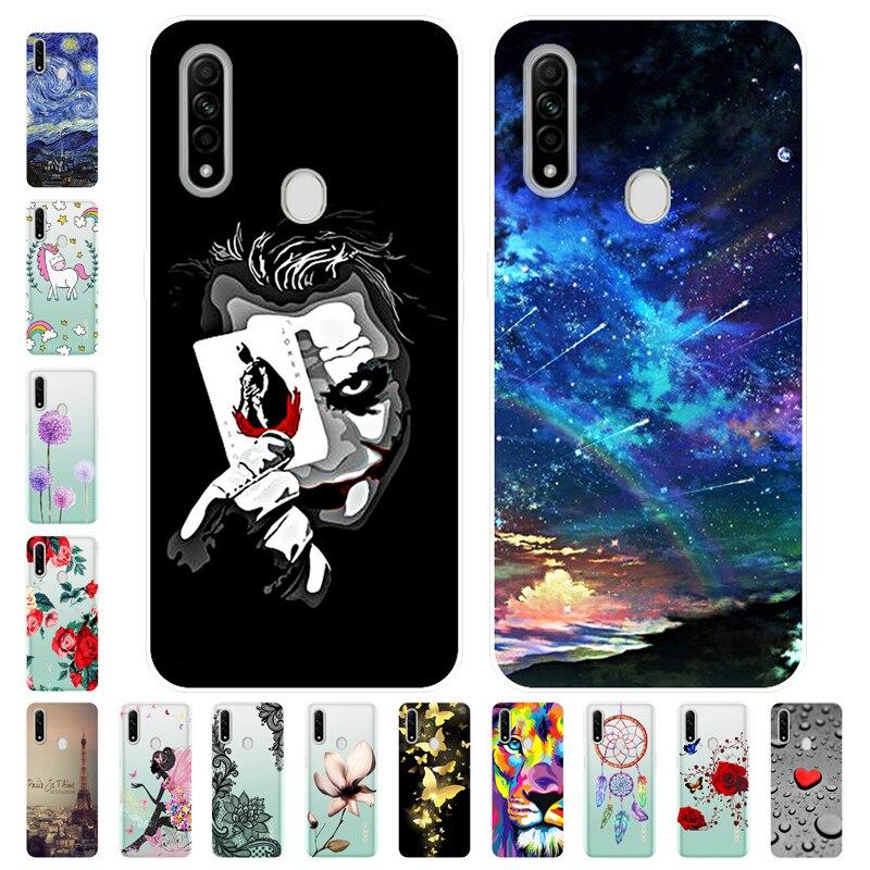 Para oppo a31 caso macio silicone dos desenhos animados capa traseira caso de telefone para oppo a31 a 31 oppoa31
