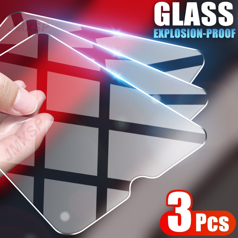 3Pcs Tempered Glass For Samsung Galaxy A10 A20 A30 A40 A50 Protective Glass Samsung A10S A20S A30S A