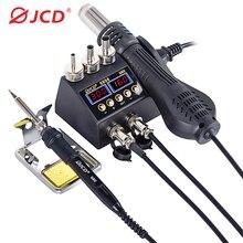 2 In 1 750W สถานีบัดกรี LCD ดิจิตอลจอแสดงผลเชื่อม Rework Station สำหรับโทรศัพท์มือถือ BGA SMD PCB IC ซ่อมบัดกรีเครื่อง...