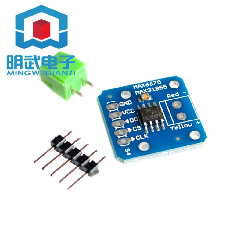 Max6675/max31855 módulo termopar sensor de temperatura k-tipo módulo termopar