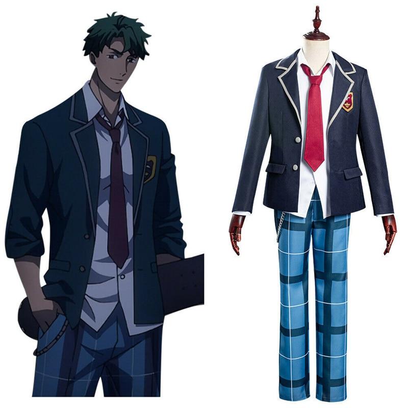SK8 the Infinity Anime Cosplay Costume Joe School Uniform Skating Halloween Costumes Carnival Performance Clothing Unisex