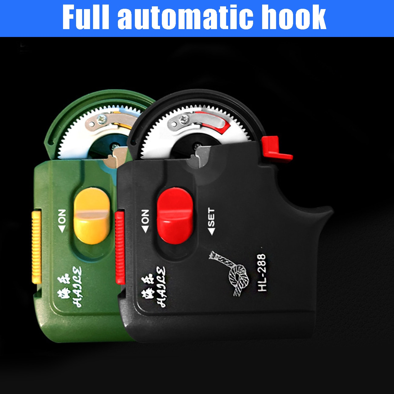 New Automatic Portable Electric Fishing Hook Tier Machine Fishing Accessories Tie Fast Fishing Hooks Line Tying Device Equipment enlarge
