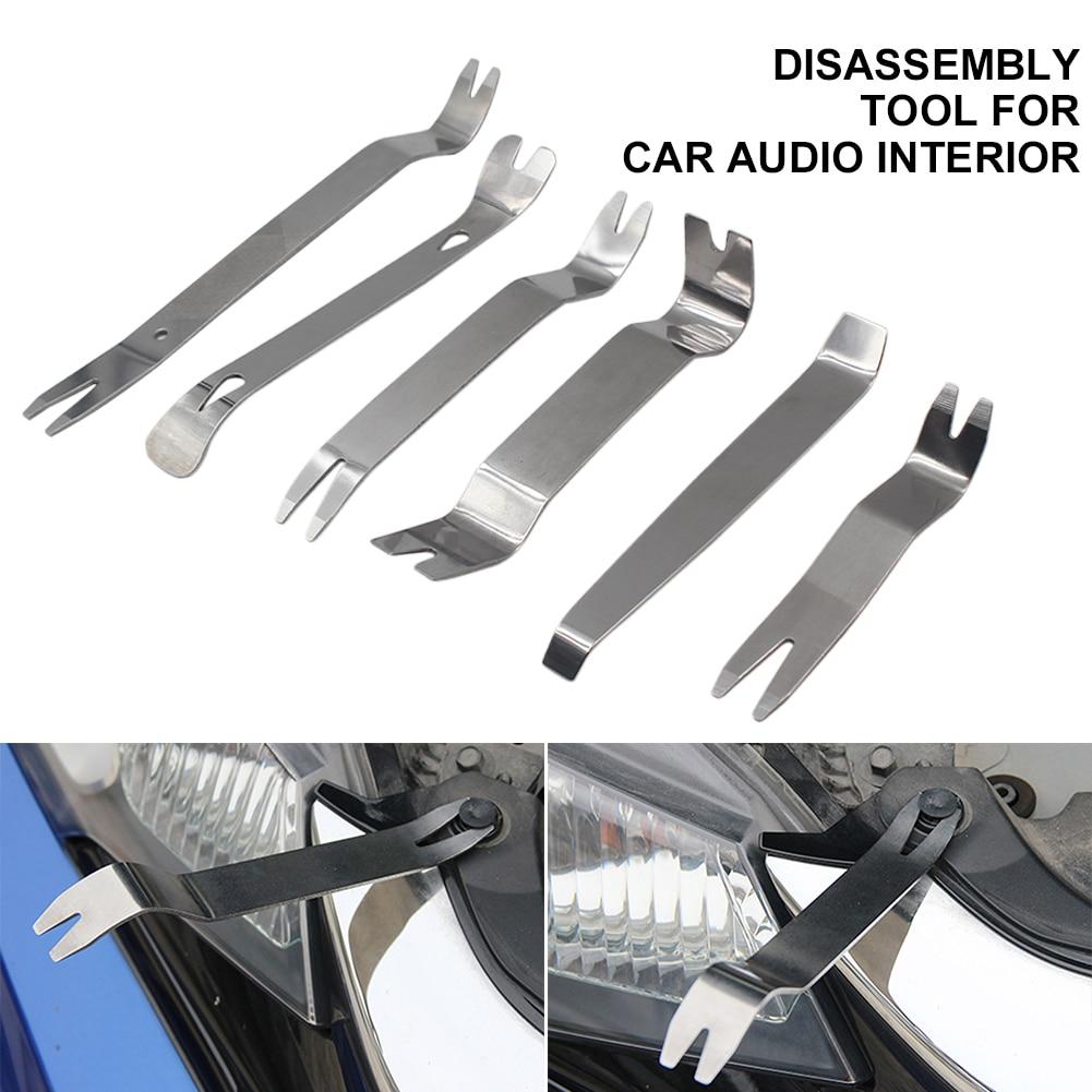 Набор инструментов для снятия отделки, набор инструментов для снятия автомобильной отделки, стальные инструменты, инструменты для снятия д...