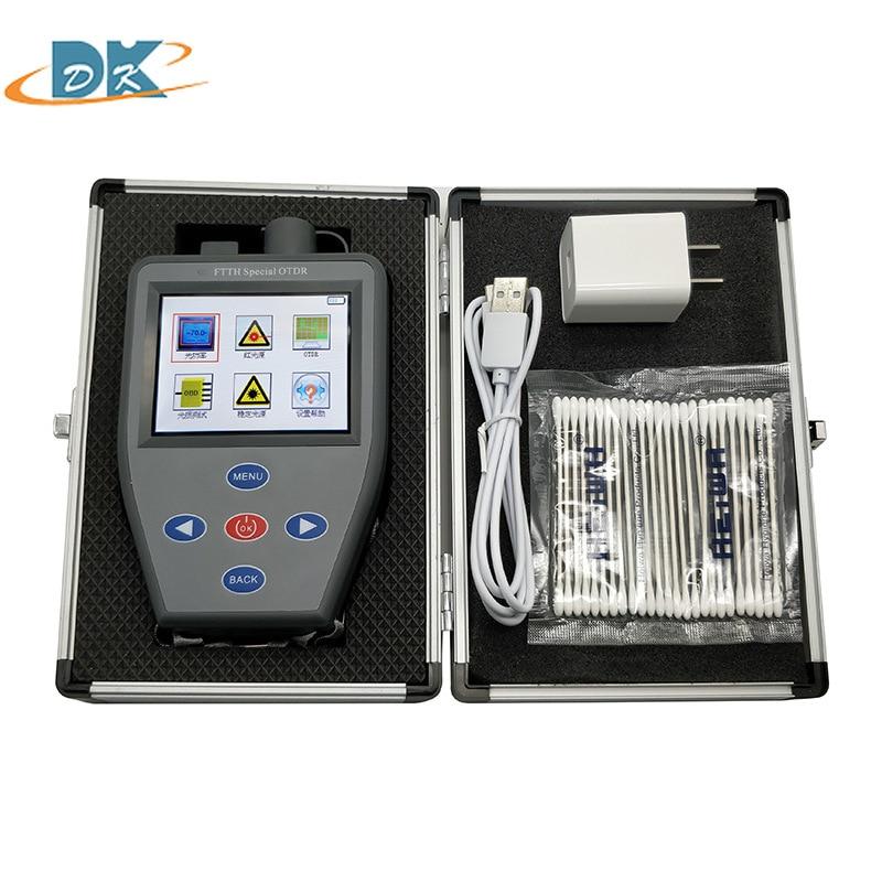 FTTH S310N Active Fiber OTDR Handheld Mini with Optical Power Meter Stable light source VFL Multifunction S310N tester enlarge