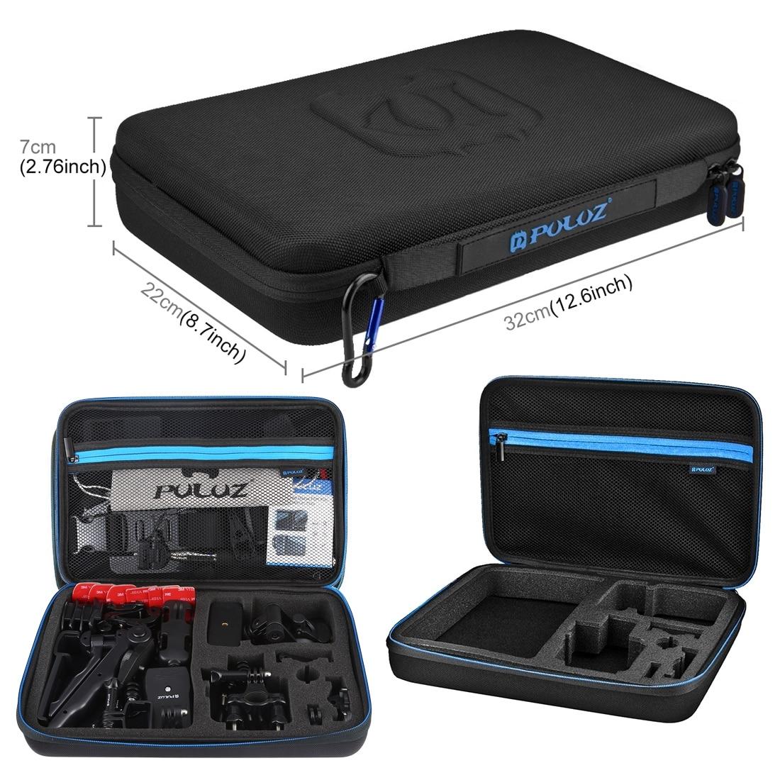 PULUZ 43 in 1 For DJI Osmo Pocket Handheld Accessories Total Ultimate Combo Kits EVA Storage Bag Case Box For DJI Osmo Pocket enlarge