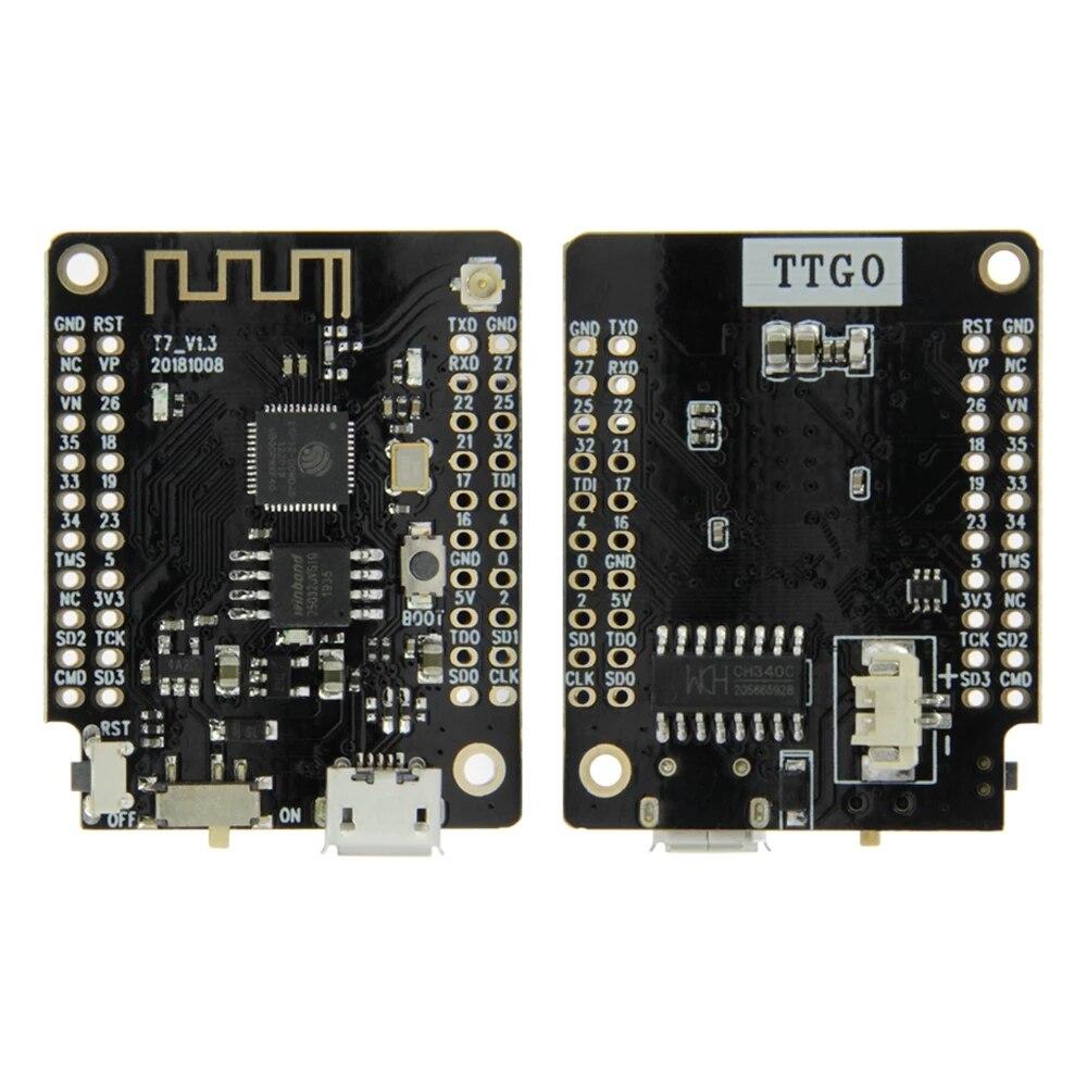 LILYGO® TTGO T7 V1.3 MINI 32 ESP32 WiFi Bluetooth Module Development Board