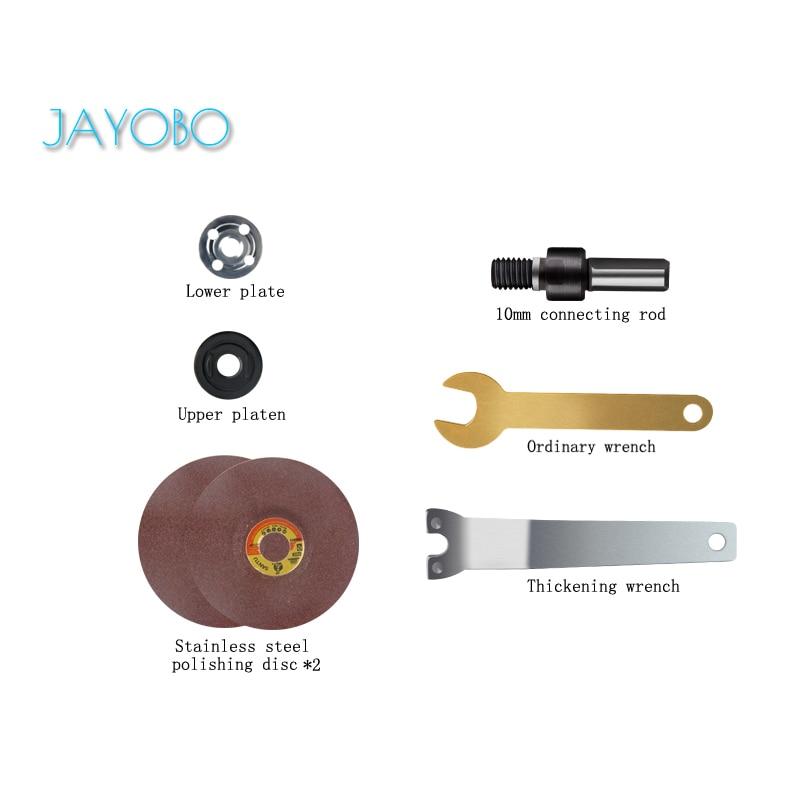 JAYOBO (Pulido de metales)Para Conectar Conjunto De Varillas De Mano Taladro De...