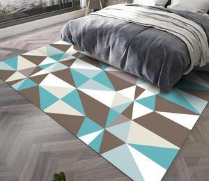 Geometric Style Rugs Fashion Mats Study Floor Mat Simple Nordic Carpet Livingroom Home Soft Bedroom Carpets