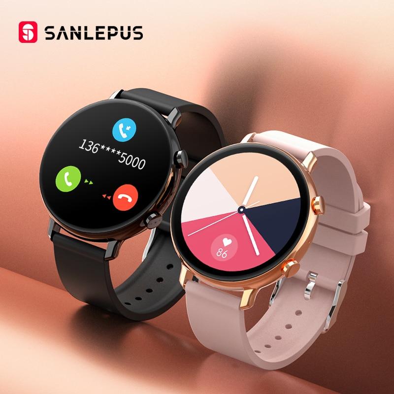 SANLEPUS ECG Smart Watch Bluetooth Call 2021 NEW Men Women Waterproof Smartwatch Heart Rate Monitor For Android Samsung Apple