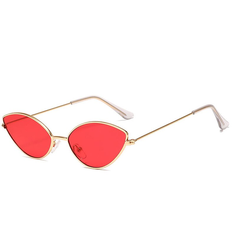 2021 Female Vintage Shades Cat Eye Sunglasses Women Retro Small eye Sun Glasses For