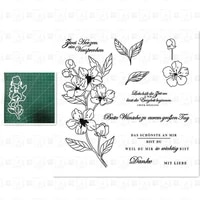 flowers metal cutting dies and stamps stencil templates for diy scrapbooking photo album decor sheets mould new arrival 2021