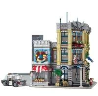 high quality block toys set educational 3111pcs brick city police station model child kids constructions blocks toys