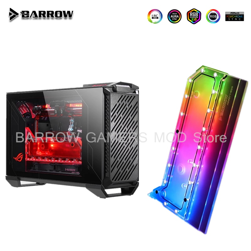 Promo Barrow Distro Plate For ASUS Z11 Case ,For Intel CPU GPU Cooler, 5V 3Pin Water Tank PC Liquid Cooling System Custom  ASSZ11-SDB