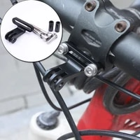 camera tripod stand stem holder mount for gopro base sports bike bicycle cycling aluminum alloy bicycle camera holder