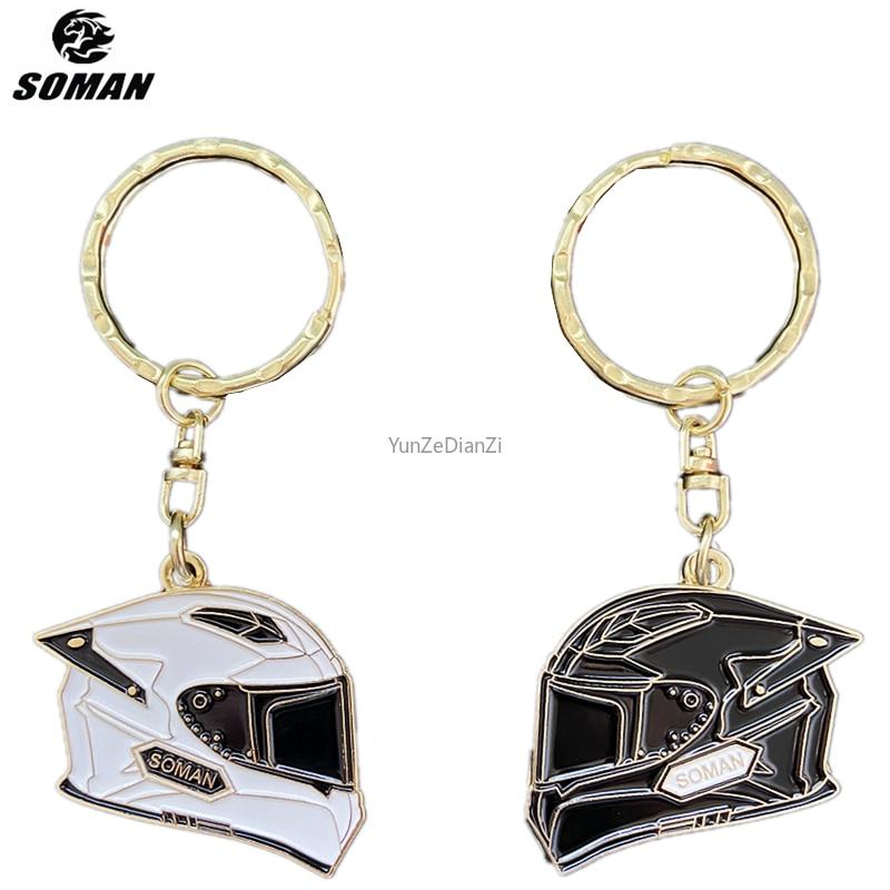 Запчасти и аксессуары для мотоциклетного шлема Soman, модель, автомобильный брелок