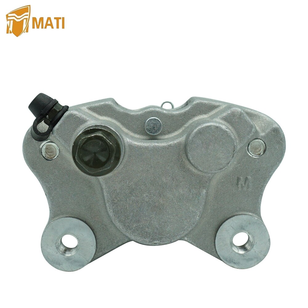 Front Left Brake Caliper or Rear Right Brake Caliper with Pads for Arctic Cat ATV 250 300 375 400 454 500 Replacement 0402-011 rear right brake caliper for toyota avensis saloon estate zr adt27 47830 05030