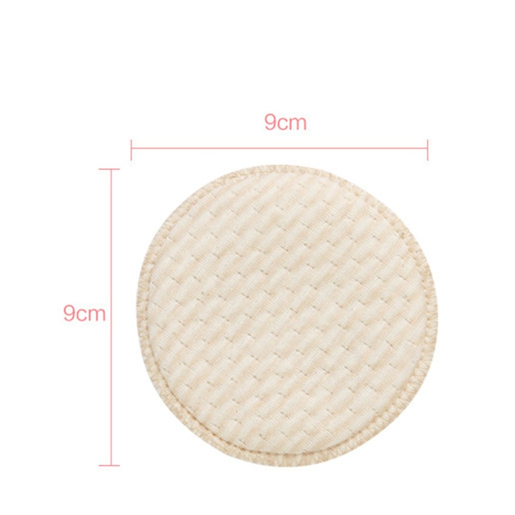 4Pcs Non-Woven Cotton Collection Nursing Breast Pads Breastfeeding Absorbent Cover Stay Dry Cloth Pad