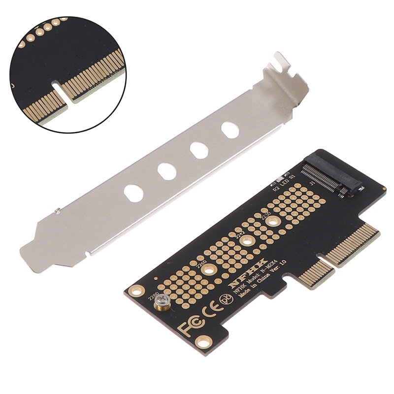HOT M.2 NVMe ssd ngff to pcie 3.0 x4 adapter m key interface card m 2 ngff pcie 4 lane ssd to pci e pcie 3 0 x4