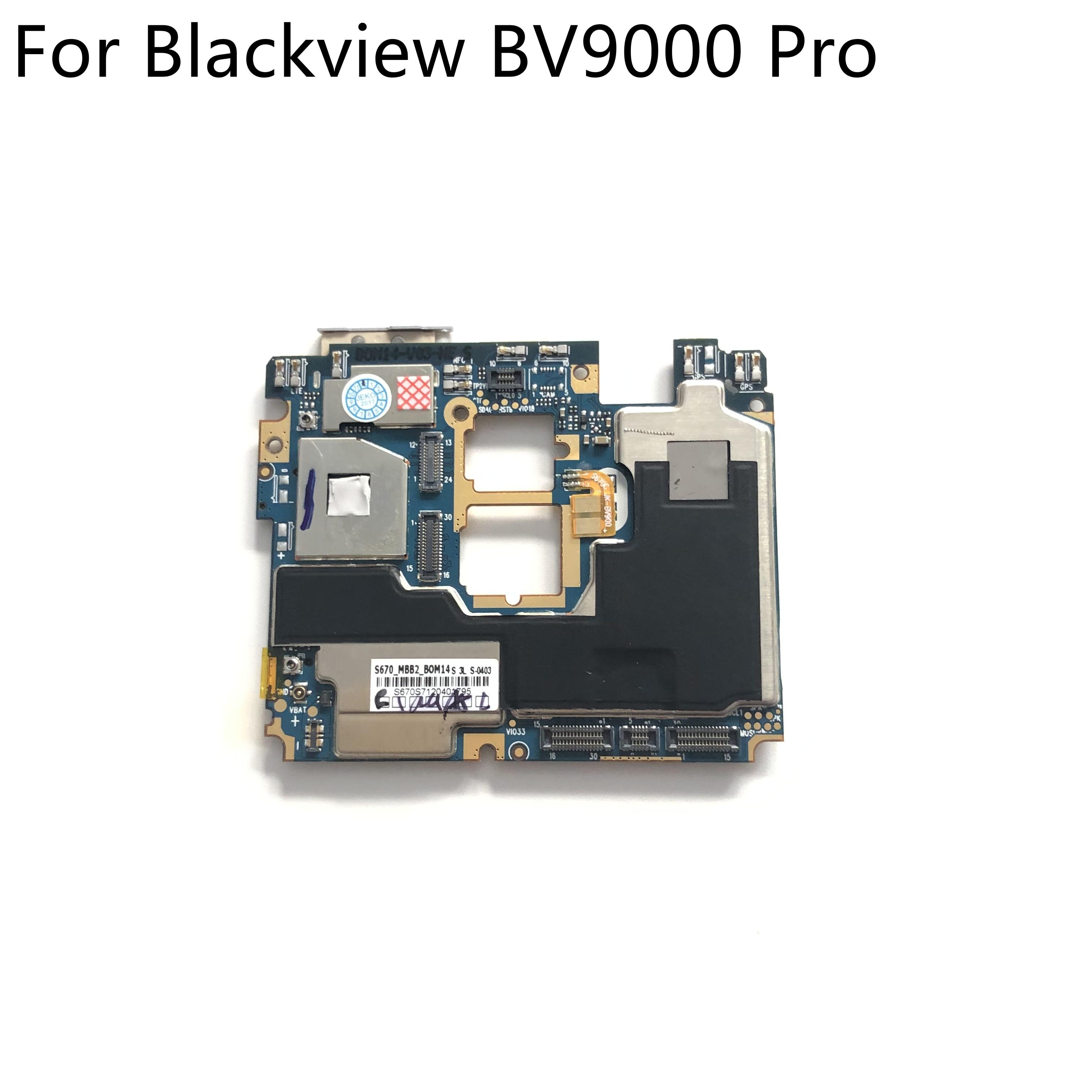 "Original utilizado placa base 6G RAM + 128G ROM placa base para Blackview BV9000 Pro MTK6757CD Octa Core 5,7 ""1440x720 envío gratis"