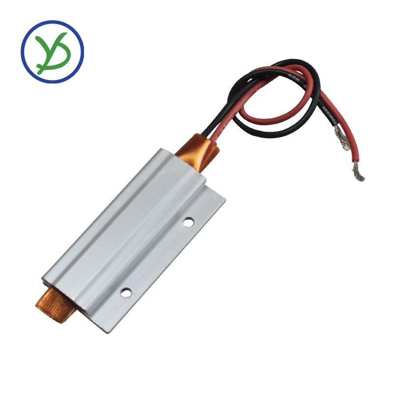 2 قطعة 12 فولت 200C ترموستات PTC الألومنيوم التدفئة مع تصاعد حفرة ل أداة صغيرة معزول السطح