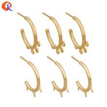 Design Cordial 30 pièces accessoires de bijoux/fabrication de boucles doreilles/plaqué or véritable/pièces de bricolage/résultats de boucles doreilles/fait à la main/boucles doreilles