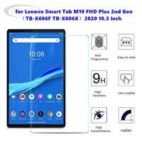 Закаленное стекло 9H для Lenovo Tab M10 Plus, защита экрана планшета 10,3 дюйма для M10 FHD Plus 2nd Gen TB-X606F TB-X606X