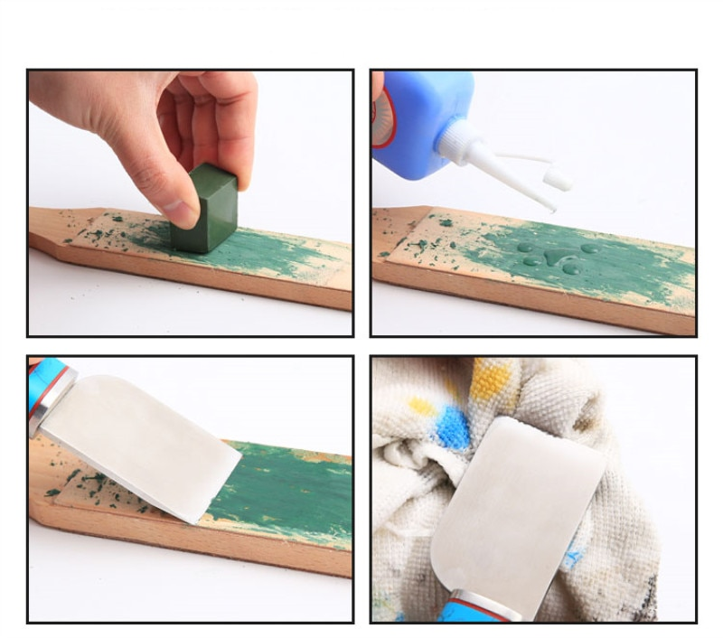 1tk roheline poleerimispasta alumiiniumoksiid peene abrasiivrohelise - Abrasiivid - Foto 6