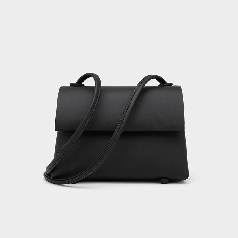 YOUSE Hot-حقيبة جلدية ناعمة عصرية للنساء ، حقيبة صغيرة متعددة الاستخدامات بلون سادة ، مجموعة خريف وشتاء جديدة 2020