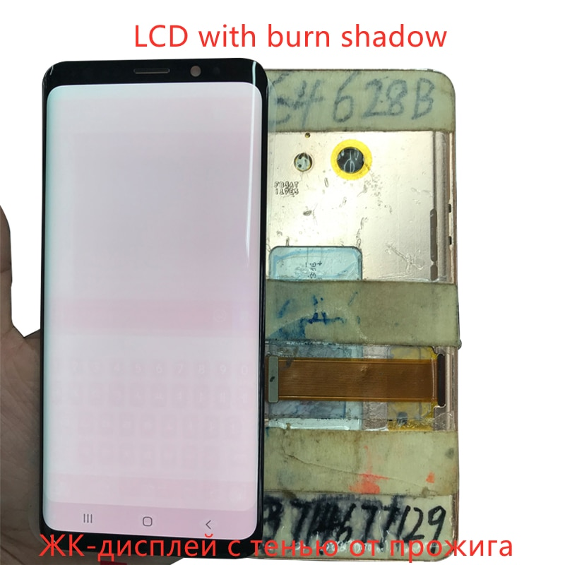 For Samsung Galaxy S9 Plus Display G965F G965U Lcd Screen S9+ Display Touch Screen Digitizer Assembly with Frame Replacement enlarge