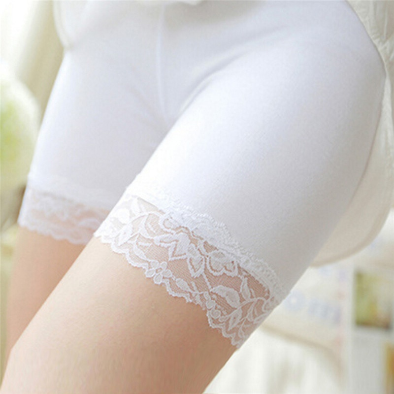 Comfortable Safety Short Pants Small Size Summer Seamless Shorts Under Skirt Lace Underwears Modal Boxers Safety Shorts Women