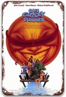one crazy summer 1986 tin signs vintage movies poster art group for coffee bar custom home kitchen office toilet decorative