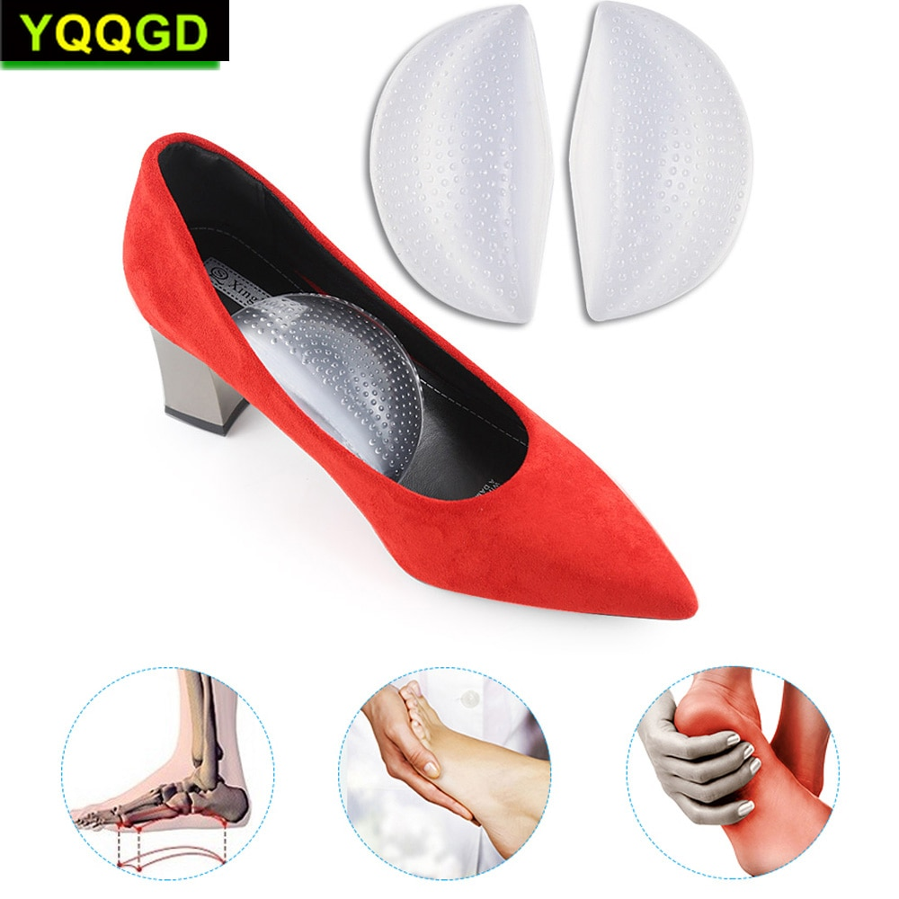 1pair arch support gel insole pads for flat feet foot pain relief arch cushion orthopedic insoles foot care shoe inserts unisex 1Pair Women shoes Arch Support Cushion Pads Flat Foot Orthopedic Insoles Foot Care Shoe Inserts Cushion Insoles Pad