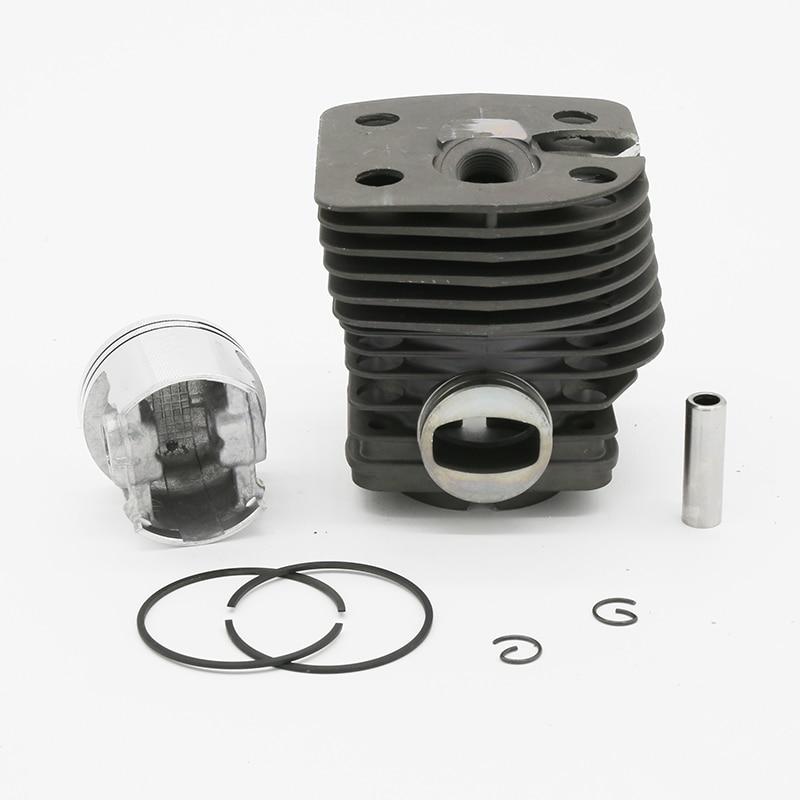 Cylinder Piston 46mm Fit For Stihl FS420 FS420L FS550 FS550L FR550 FS FR 550 Garden Tools Grass Trimmer Spare Parts