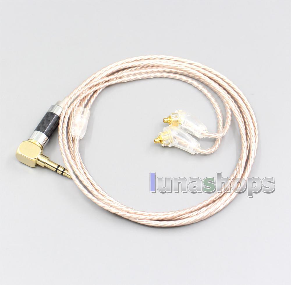 Ln006878 hi-res brown xlr 3.5mm 2.5mm 4.4mm cabo do fone de ouvido para sony XBA-H2 XBA-H3 XBA-Z5 xba-A3 xba-A2