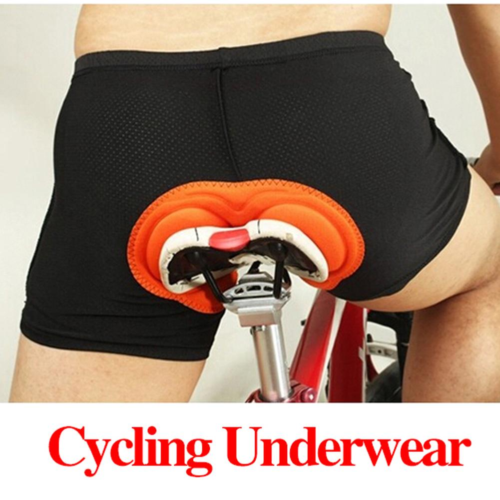 Bike Cycling Shorts Sponge Gel 3D Padded Black Comfortable Wear Resistant Riding Shorts Pants Underw