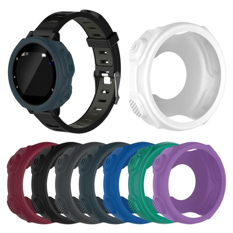 Protector de reloj inteligente para Garmin forerunner 235 735XT reloj Carcasa protectora suave a prueba de polvo carcasa de marco protector