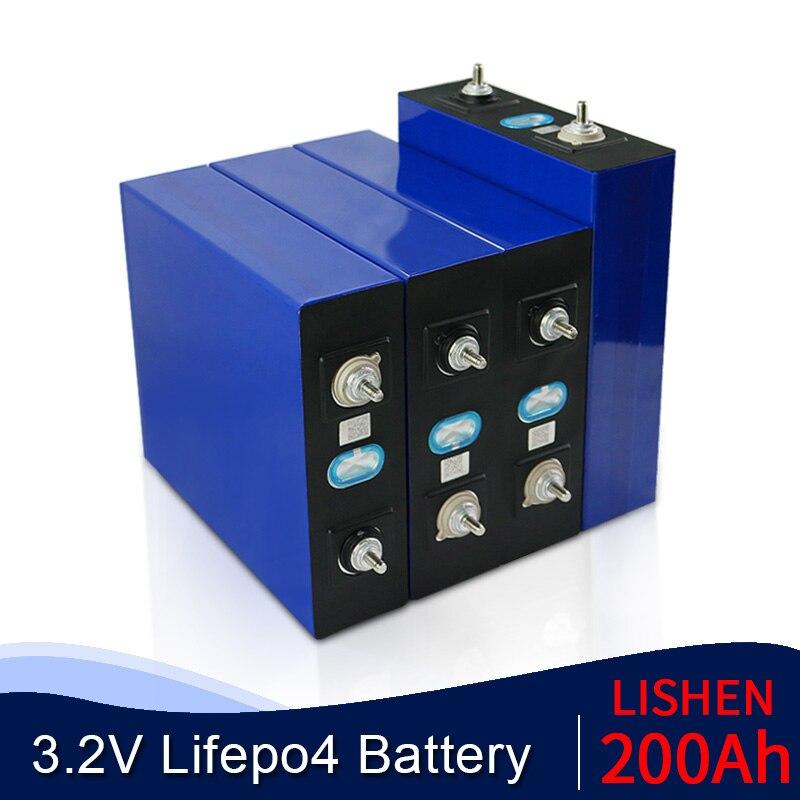 جديد 200ah lifepo4 بطارية 4-32 قطعة 3.2 فولت ليثيوم الحديد الفوسفات 12 فولت 48 فولت خلية حزمة مناسبة للطاقة الشمسية الاتحاد الأوروبي الولايات المتحدة مع...