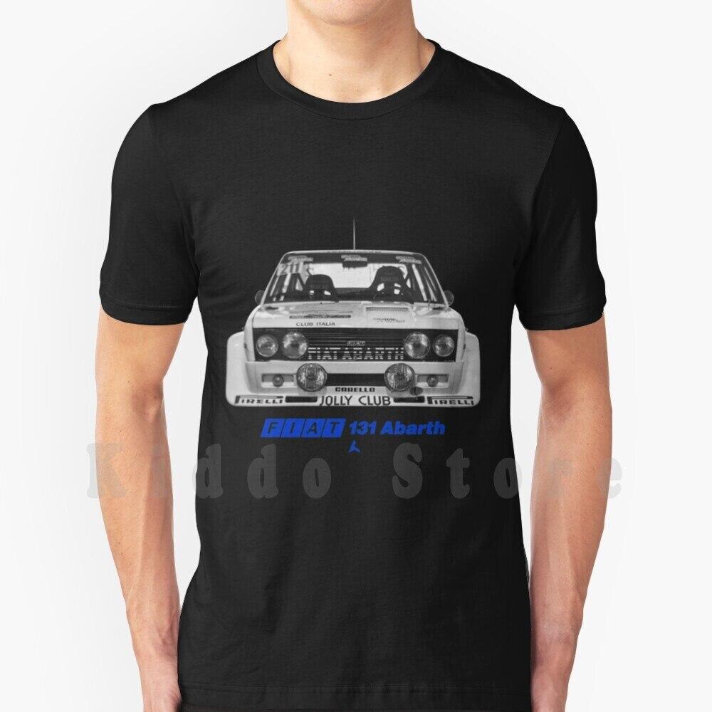 Camiseta con estampado de Fiat 131 Abarth para hombre, camiseta fresca de...