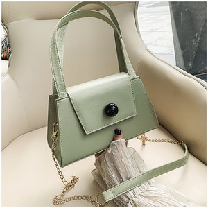 Trendy Bag New Women's Bag 2020 Fashion Small Square Bag Flip Beads Shoulder Crossbody Bag Mini Women's Bag Custom Wholesale