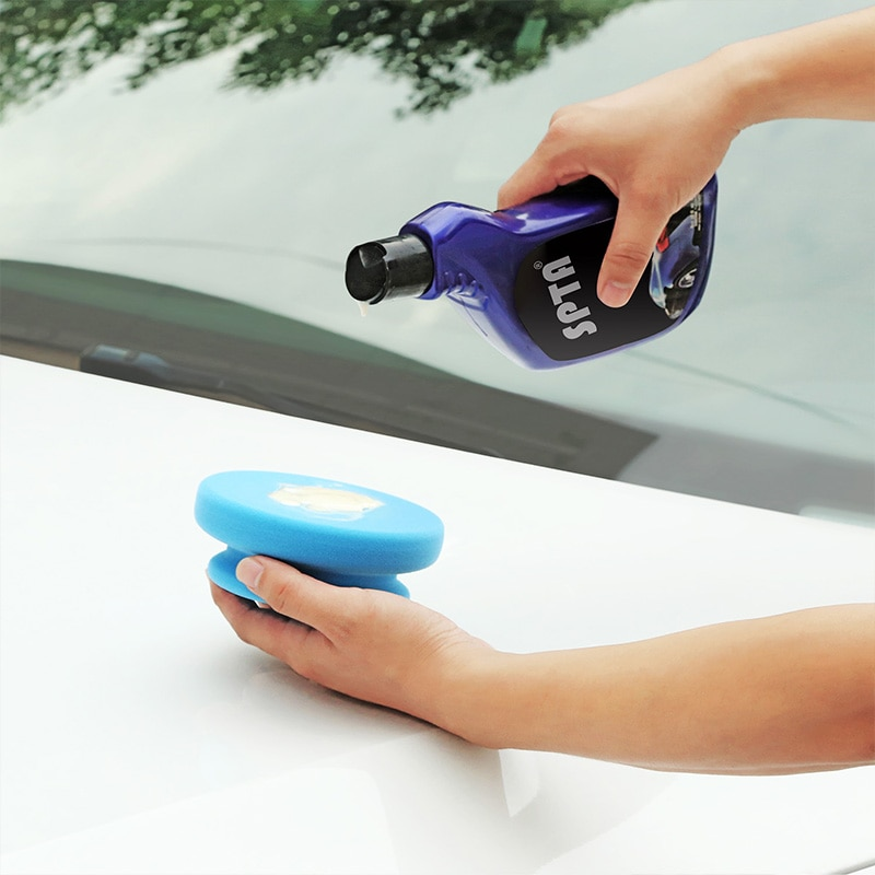 Car Wash tools Manual Waxing Sponge Rubbing Compound Applicator Car detailing cleaning Pad Auto Paint Care Polishing Sponge недорого