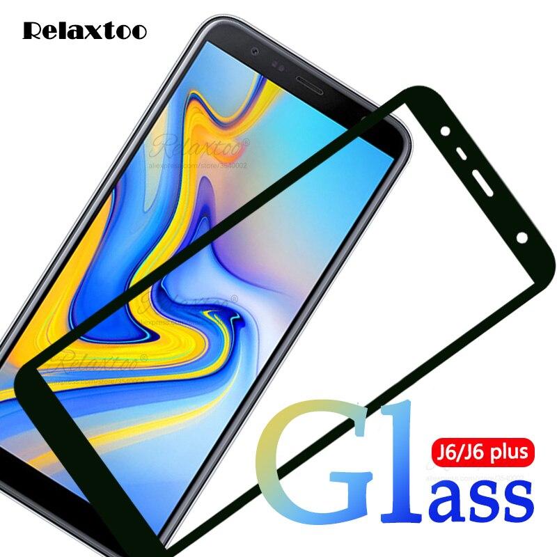 De vidrio protector para Samsung Galaxy J6 2018 sm-j600f/ds de vidrio templado para Samsung j6 + J6 plus 2018 sm-j610fn Glas j 6 película