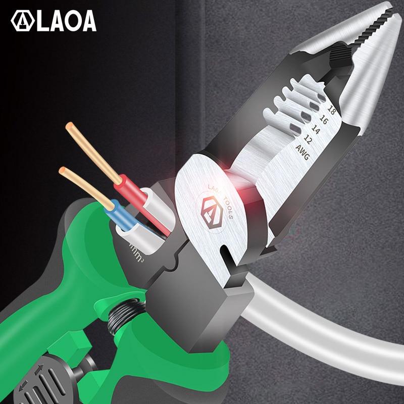 Multifunkcionális villanyszerelő fogó, hosszú orrfogó, - Kézi szerszámok - Fénykép 5