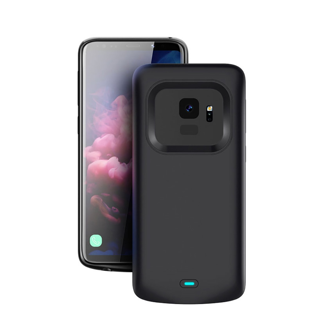 Battery Charger Case For Samsung Galaxy S9 S8 Plus Soft TPU Charging Phone Power Cover For Samsung N